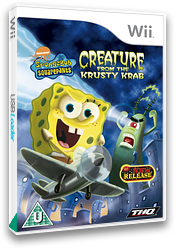 SpongeBob SquarePants: Creature from the Krusty Krab Wii cover (RQ4P78)