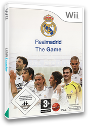 Real Madrid The Game Wii cover (RR7PVP)