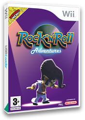 Rock 'N' Roll Adventures Wii cover (RRAXUG)