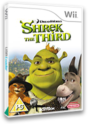 Shrek The Third Wii cover (RSKX52)