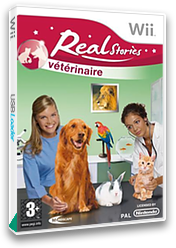 Real Stories: Veterinaire Wii cover (RTEHMR)