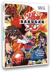 Bakugan Battle Brawlers (Toys R Us Edition) Wii cover (RUHX52)