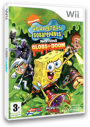 SpongeBob SquarePants featuring Nicktoons: Globs of Doom Wii cover (RUSP78)