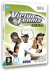 Virtua Tennis 2009 Wii cover (RVUP8P)