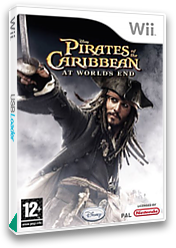 Pirates Of The Caribbean: At World's End Wii cover (RW3P4Q)