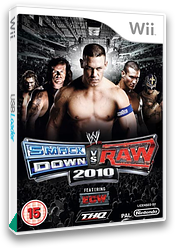WWE SmackDown vs. Raw 2010 Wii cover (RXAP78)
