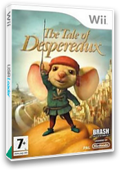 The Tale of Despereaux Wii cover (RXRPRS)