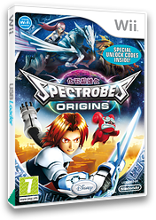 Spectrobes: Origins Wii cover (RXXP4Q)