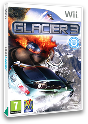 Glacier 3 Wii cover (S3GPXT)