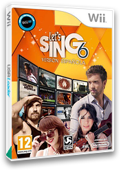 Let's Sing 6 - Spanish Version Wii cover (S7JPKM)