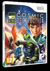 Ben 10: Ultimate Alien Cosmic Destruction Wii cover (SBJPAF)