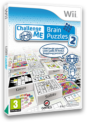 Challenge Me:Brain Puzzles 2 Wii cover (SC6PGN)