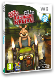 Calvin Tucker's: Farm Animals Racing Tournament Wii cover (SCGPXT)