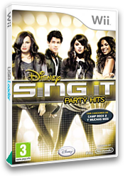 Disney Sing It: Party Hits Wii cover (SDIP4Q)