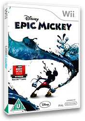 Disney Epic Mickey Wii cover (SEMX4Q)