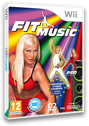 Fit Music Wii cover (SFEPYF)