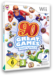 Family Party: 90 Great Games Party Pack Wii cover (SFYPAF)