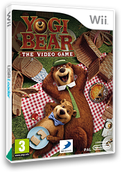 Yogi Bear: The Video Game Wii cover (SG8PAF)
