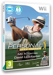 My Personal Golf Trainer with IMG Academies and David Leadbetter Wii cover (SGTPUG)