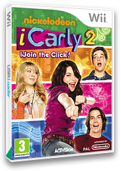 iCarly 2: iJoin the Click! Wii cover (SIJP52)