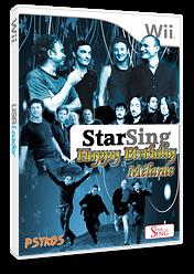 StarSing:Happy Birthday Mélanie v1.1 CUSTOM cover (SISMEL)