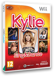 Kylie Sing & Dance Wii cover (SK5PY1)