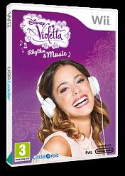 Disney Violetta: Rhythm & Music Wii cover (SK7PVZ)