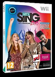 Let's Sing 2016:Hits Français Wii cover (SLKPKM)