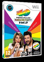 40 Principales Karaoke Party Vol. 2 Wii cover (SLMPWL)