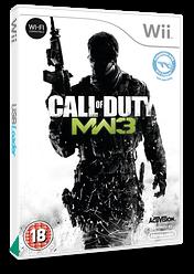 Call of Duty: Modern Warfare 3 Wii cover (SM8I52)