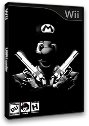New Super Mario Bros. Wii ANDY AFRO'S Custom Collection Volume 4. CUSTOM cover (SMMP01)