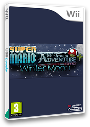 Super Mario: Mushroom Adventure PLUS: Winter Moon CUSTOM cover (SMMP02)