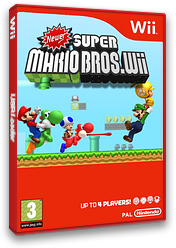 Newer Super Mario Bros. Wii CUSTOM cover (SMNP03)