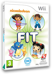 Nickelodeon Fit Wii cover (SNKX54)