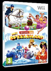 The Studio 100: Play Island Wii cover (SPWHZH)
