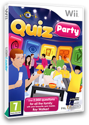 Quiz Party Wii cover (SQUPX3)
