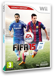 FIFA 15 - Legacy Edition Wii cover (SQVP69)