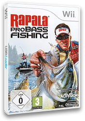 Rapala Pro Bass Fishing Wii cover (SRFP52)