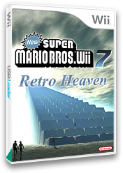 New Super Mario Bros. Wii 7 Retro Heaven CUSTOM cover (SRHP01)