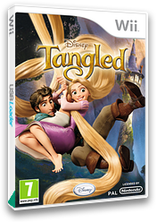 Disney Tangled Wii cover (SRPP4Q)