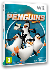 Penguins of Madagascar Wii cover (SV7PVZ)