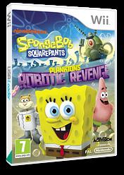 SpongeBob SquarePants: Plankton's Robotic Revenge Wii cover (SVDP52)