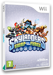 Skylanders: Swap Force Wii cover (SVXI52)