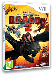 How to Train Your Dragon 2 Wii cover (SVZPVZ)