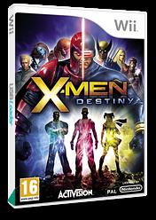 X-Men Destiny Wii cover (SX8P52)
