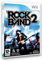 Rock Band 2 Wii cover (SZAP69)