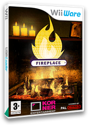 My Fireplace WiiWare cover (W2YP)