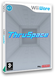 ThruSpace: High Velocity 3D Puzzle WiiWare cover (W3KP)