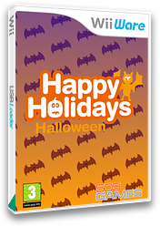 Happy Holidays: Halloween WiiWare cover (W8WP)