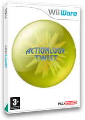 Actionloop Twist WiiWare cover (WA2P)